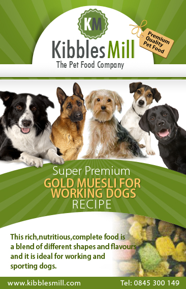 Gold Muesli for Working Dogs