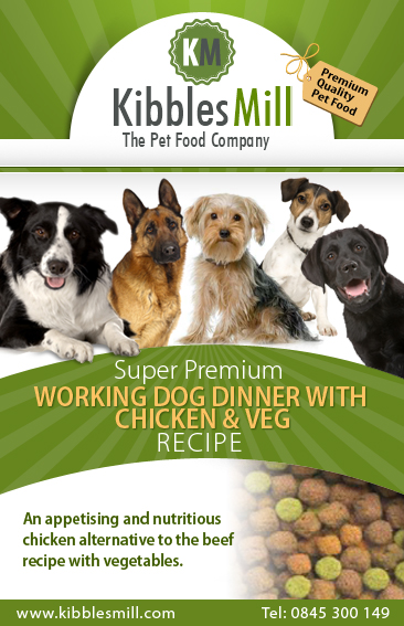 Working Dog Dinner with Chicken & Veg