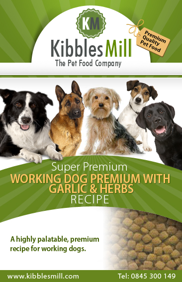 Working Dog Premium with Garlic & Herbs
