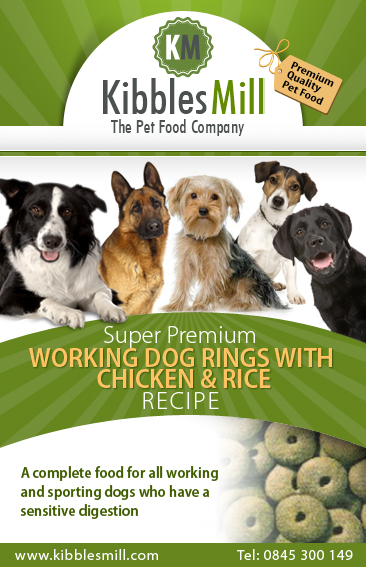 Working Dog Rings with Chicken & Rice
