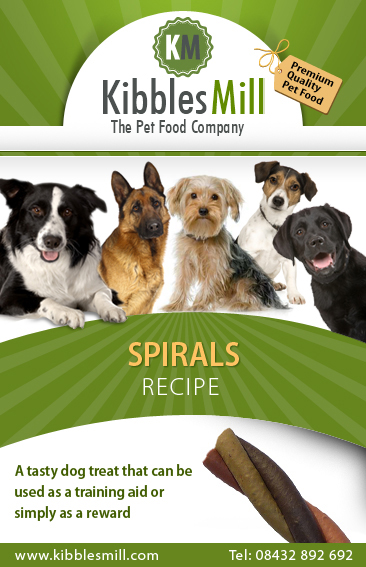 dog treats spirals